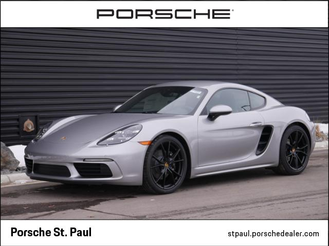 New 2018 Porsche 718 Cayman Base RWD 2D Coupe for $799.59 per month lease