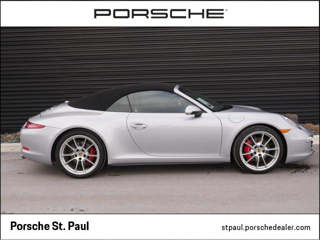 Certified Pre-Owned 2016 Porsche 911 911 Carrera 4S Cabriolet