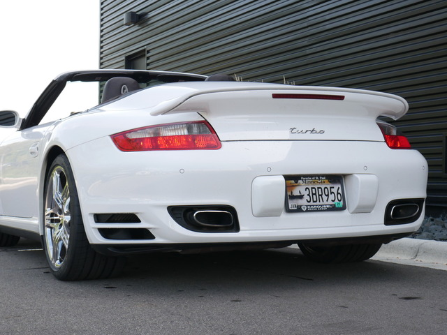 Pre-Owned 2008 Porsche 911 911 Turbo Cabriolet